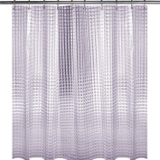 Wimaha Standard Peepholes Design Shower Curtain Mildew Resistant Waterproof Shower Curtain with Shower Curtain Hooks and Metal Grommets 72W x 72L Clear