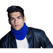 Turban Diva-400-10R Motorcycle Scarf Regular-Royal Blue