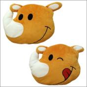 Juggler horn face cushion / juggler goods JUGGLER cushion pillow