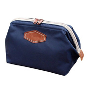 Darkblue Portable Cosmetic Bag Beauty Organiser Bag Washing bag for Travel