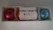 Wellness Collection III Aromatherapy Fizzing Shower Bombs by Spa Pure Naturals