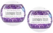 Fizz & Bubble Artisan Bath Fizzy 2 Pack Lavender Fields 190ml