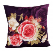 Rosiest Printing Dyeing Peony Sofa Bed Home Decor Pillow Case Cushion Cover