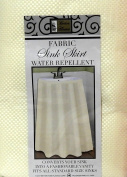 Fabric Sink Skirt Mosaic Stitch Ivory