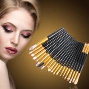 Makeup Brushes Makeup Brush - 20pcs Professional Makeup Brush Set Powder Foundation Eyeshadow Eyeliner Lip Brushes Pinceaux Maquillage Make Up Cosmetic Tool - Oval Makeup Brush