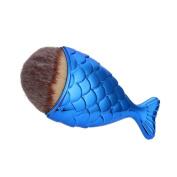 Sinwo Multifunction Fish Scale Makeup Brush Fishtail Bottom Brush Powder Blush Makeup Cosmetic Brush Concealer Brush