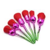 Enchanted Rose make-up brush set