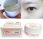 [PETITFEE] Collagen & Co Q10 Hydrogel Eye Patch 60 pcs(30 pairs) / wrinkles,moisture / Korean Cosmetics