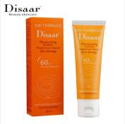 DISAAR SPF 60+ Moistening Sunblock Sunscreen Cream For Dry Sensitive Skin 80ml