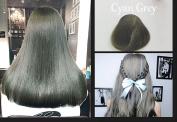 AILOVEDIS 120ml Cyan Grey Semi Permanent Hair Colour Dye Long Lasting Unisex Hair Dye