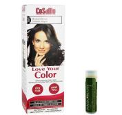 Jarosa Gifts Cosamo-Love Your Colour-Ammonia & Peroxide Free Hair Colour #765 Medium Brown - Single with a Jarosa Bee Peppermint Lip Balm 100% All Natural Deep Moisturising Usda Certified Organic