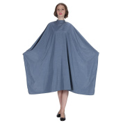 "SMARTHAIR Professional Salon Cape Polyester Haircut Apron Hair Cut Cape,53""x61"",Blue,C365001C"