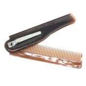 Prettymenny Hairdressing Beauty Folding Beard And Hair Comb Beauty Tools For Men