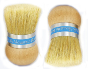 Chalk Mountain Brushes - ORIGINAL DESIGN (2) Palm Wax Brush. Designed for maximum comfort; Perfect for Arthritic Hands.