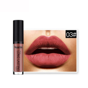 kaiCran Waterproof Matte Liquid Lipstick Long Lasting Lip Gloss Lipstick