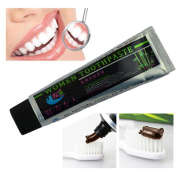 Enjocho Teeth Care,100g New Natural Chocolate Bamboo Charcoal Black Mouthguard Whitening Toothpaste Whitener Tooth Paste