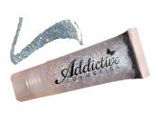 Glitter Lip Gloss Lip Junkie, CONFETTI- Thick and Rich- Non Sticky Vegan Friendly and Cruelty Free Formula- Made in the USA