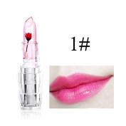Hot Sales! DEESEE(TM) Waterproof Magic Jelly Flower Colour Temperature Change Moisturiser Lip Lipstick