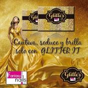 Fantasy Nails Sinaloa - Glitter it - Gold Collection - 6pcs To Apply W Acrylic