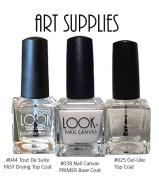 LOOK Nail Colour - Art Supplies Trio