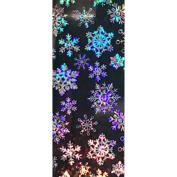 Nail Foils Laser Glitter Snowflakes Adhesive Nail Art Transfer Foils