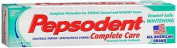 Pepsodent Complete Care Enamel-Safe Whitening Anticavity Fluoride Toothpaste Smooth Mint Flavour - 160ml, Pack of 2