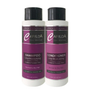 Carilda Shampoo & Conditioner Kit. Ultra Moisturising Sulphate and Paraben Free 470ml - for Keratin Treated Hair