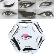 Eyeliners Stencil - Winged Eyeliner Stencil - 1Pc 6 in 1 Eyeliner Stencil Makeup Guide Quick Eyeliner Tool Beauty