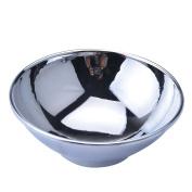 CSB Men's Durable Shave Soap Cup Shinning Chrome Zinc Alloy Shaving Mug Bowl
