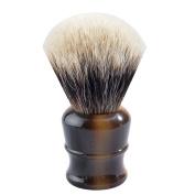 CSB Shaving Brush Men Shave Tool Faux Horn Handle Shaving Brush with High Mountain White Badger Hair