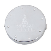 Morgan State Silver Bling Compact Mirror 'Morgan State Engrave'