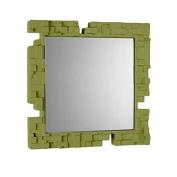 Slide Pixel Mirror Lime Green