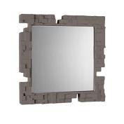 Slide Pixel Mirror Dove Grey