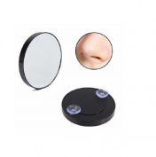Big Eye Makeup Mirror Magnifying 10x with Suction Cups Cosmetic Travel Size Round