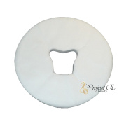 Disposable Headrest Cover for Spa Beauty Salon Massage Treatment - Pack of 100 - White