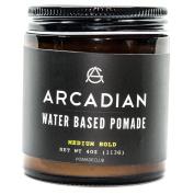 Arcadian Grooming Water Based Pomade Medium 120ml
