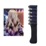 DZT1968 Women's Temporary Disposable Hair Chalk Dye Powder With Comb Salon Hair Mascara Crayo