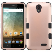 MyBat Cell Phone Case for ZTE Prestige 2 - Rose Gold/Black
