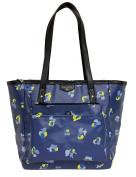 TWELVElittle Everyday Tote Plus, Navy Floral Print