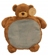 Best Seller Blue Bear Animal Cushioned Infant Activity Play Mat For Nap, Travel, and Tummy Time