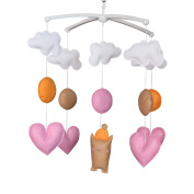 Musical Mobile With Love, Cot Mobile, Baby Gift Musical Mobile, Unisex