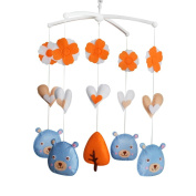 Mobile Baby Toy With Bears, Cot Mobile, Colourful Decor, Unisex