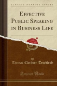 Effective Public Speaking in Business Life