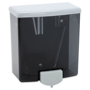 ClassicSeries Surface-Mounted Soap Dispenser, 1180ml, Black/Grey, Sold as 2 Each