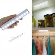 Gankarii® Led Motion Light Portable Usb Rechargeable Wireless Motion Sensing
