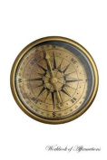 Antique Nautical Compass Workbook of Affirmations Antique Nautical Compass Workbook of Affirmations