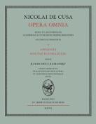 Nicolai de Cusa Opera Omnia. Volumen II. [LAT]