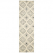 Nourison Utopia (UTP08) Champagne Rectangle Area Rug, 0.9mes by 1.5mes