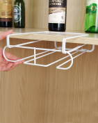 Creative Kitchen Storage Rack Wine Cup Holder NO Need to Punch