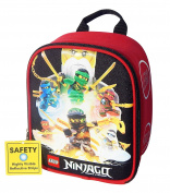 LEGO NINJAGO WU-CREW Lead-Safe Insulated Vertical Lunch Tote Box Bag